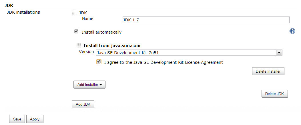 Jenkins Java Installation