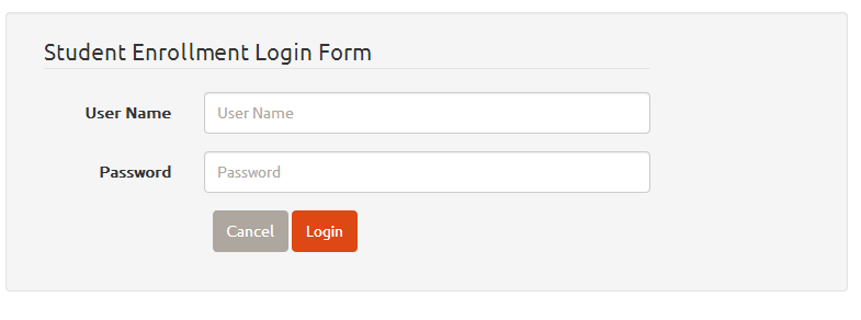 MyBatis Login Layout