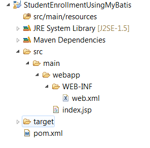Building Java Web Application Using MyBatis With Spring - My